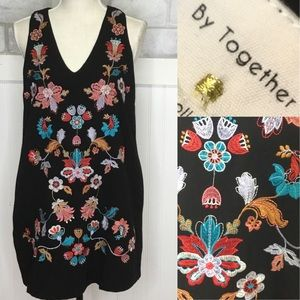 By together embroidered boho Dress